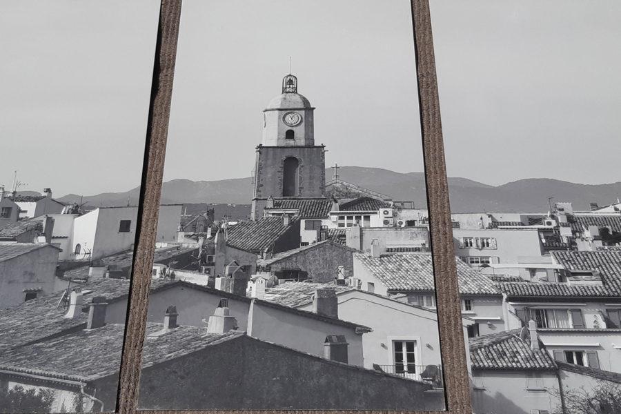 Tom Vandenhende-triptyque St-Tropez photo sur aluminium