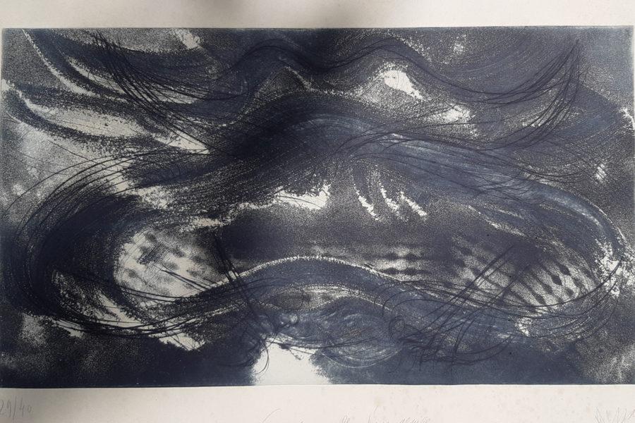 Jean Messagier lithographie